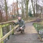 Larches Wood repaired bridge